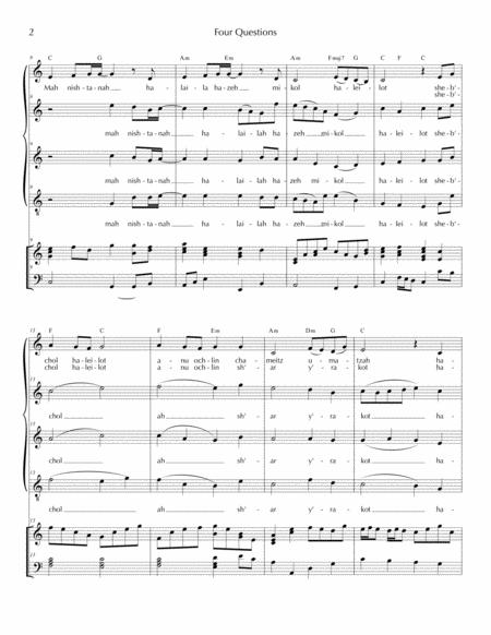 four questions music sheet download - topmusicsheet.com  top music sheets