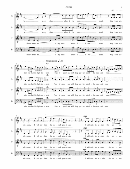 juseige dharmakara confirms his great vows a buddhist motet for satb chorus  a cappella music sheet download - topmusicsheet.com  top music sheets
