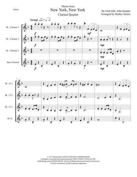 new york new york theme music sheet download - topmusicsheet.com  top music sheets