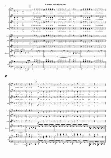 oh fortuna carmina burana music sheet download - topmusicsheet.com  top music sheets