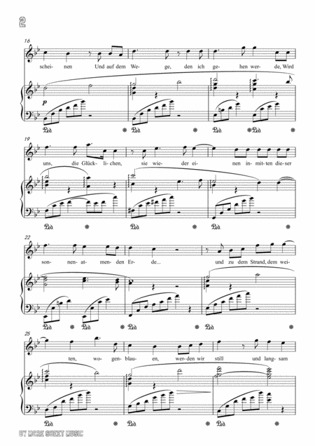 richard strauss morgen in b flat major for voice and piano music sheet  download - topmusicsheet.com  top music sheets